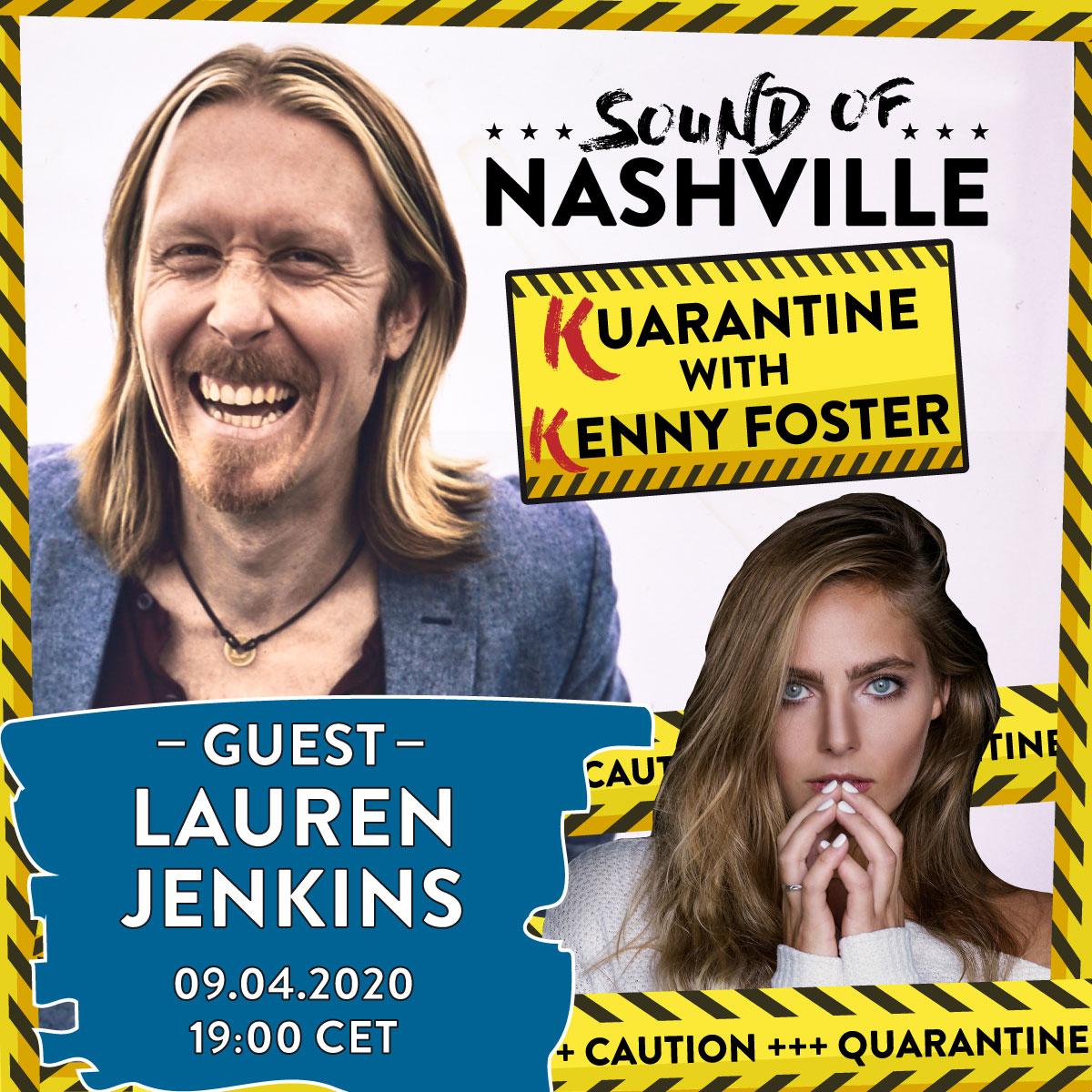 announcement_quarantine_with_Kenny_guest_Lauren-Jenkins_SON_1200x1200